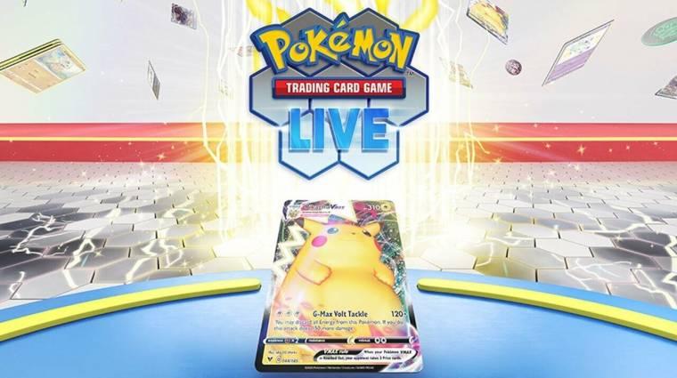 Jön a Pokémon Trading Card Game Live, amit bárki ingyen pörgethet bevezetőkép