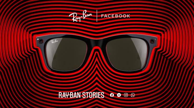Bemutatkozott a Facebook és a Ray-Ban okosszemüvege kép