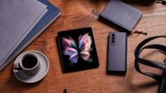 Megérkeztek a Samsung új készülékei – mit tudnak a hajtogatós mobilok, a Watch 4 és az új Buds? kép
