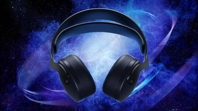 Feketében is elérhető lesz a Sony PlayStation 5-ös headsetje bevezetőkép