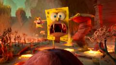 SpongeBob SquarePants: The Cosmic Shake - vadonatúj SpongyaBob platformert kapunk kép