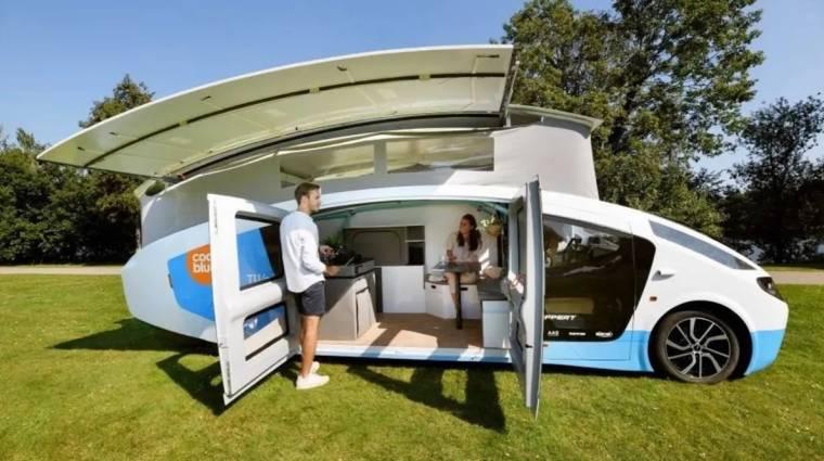Tankolás nélkül járhatod be a világot ezzel a napelemes lakóautóval kép