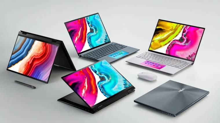 Tekerős notebookokkal rázza fel a laptopok piacát az Asus kép