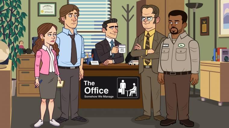 Játék készül a The Office sorozatból bevezetőkép