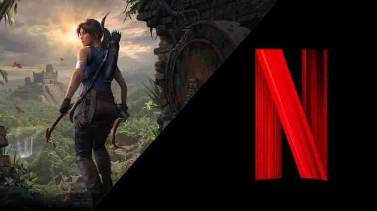 Megtalálták az animációs Tomb Raider-sorozat főszereplőjét kép