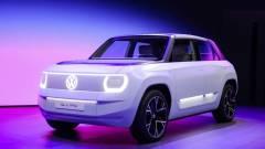 Nagyon kompakt és futurisztikus elektromos autót leplezett le a Volkswagen kép