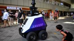Már van olyan ország, ahol robotok figyelik a gyanús tevékenységeket az utcákon kép