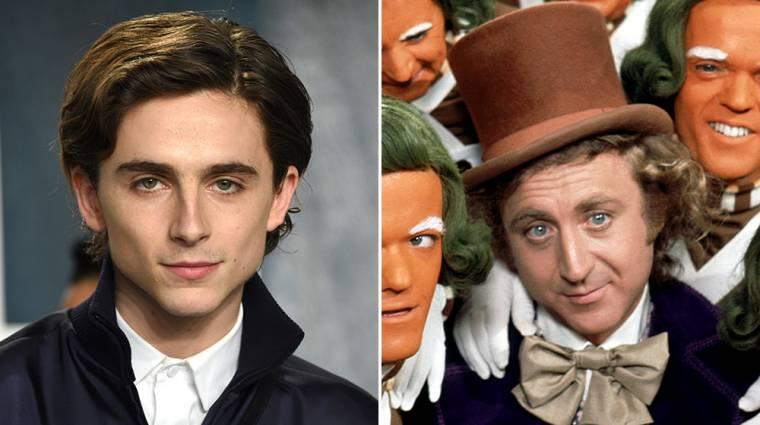 Végre láthatjuk a Timothée Chalamet által megformált Willy Wonkát kép