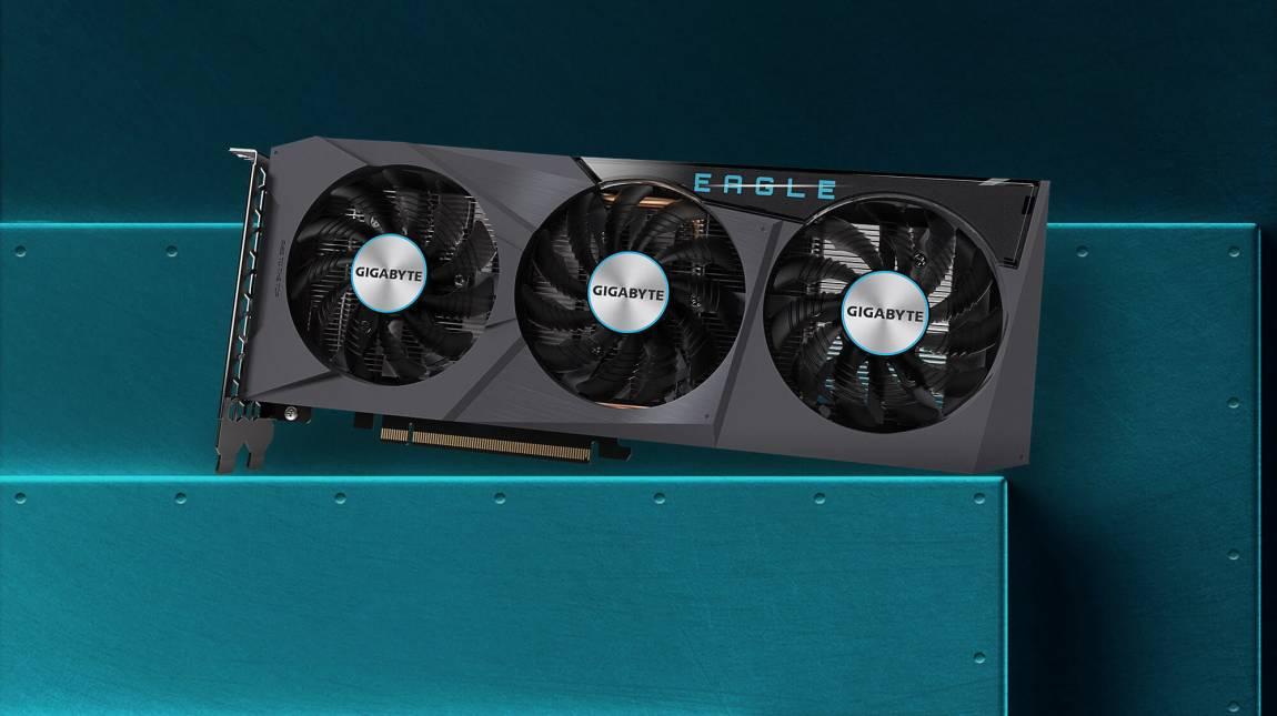 Itt a Gigabyte RX 6600-as videokártyája kép