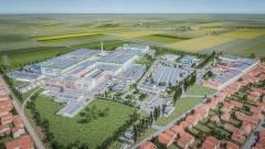 Óriás akkumulátorgyár épül a magyar határhoz közel kép
