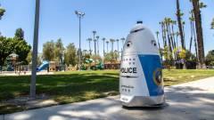Az állomány egyik legjobb zsaruja lett a kaliforniai robotjárőr kép