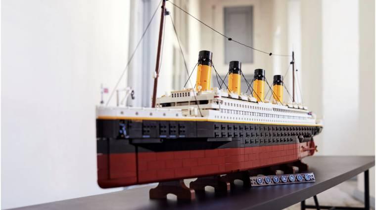 Minden idők legnagyobb LEGO szettje lesz a Titanic-modell bevezetőkép