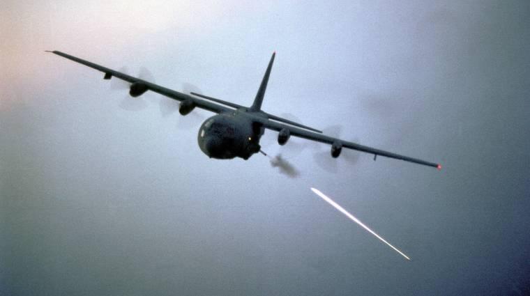 Síri csendben semmisíti meg a célpontokat az amerikai légierő lézere kép