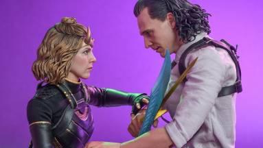 Loki és Sylvie figurákat dob piacra a Hot Toys kép