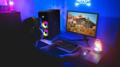 300 Hz-es monitort és egy rakás új laptopot villantott az Acer kép