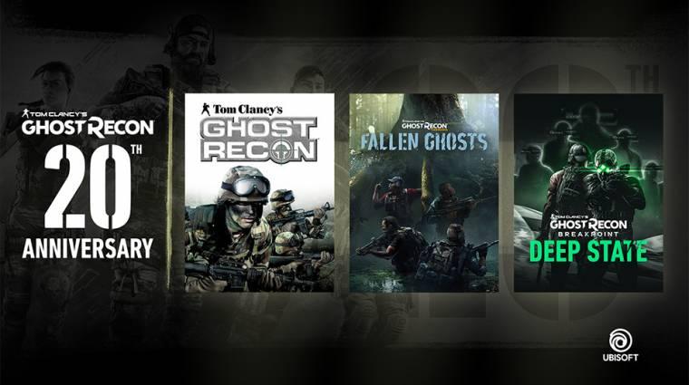Ingyen Ghost Recon játékot és DLC-ket osztogat a Ubisoft bevezetőkép