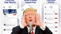 Máris per vár Donald Trump közösségi oldalára, mert állítólag másolt kódra épül kép