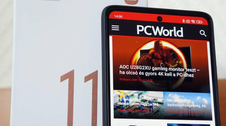 Xiaomi 11T Pro teszt – csúcstámadás behúzott kézifékkel