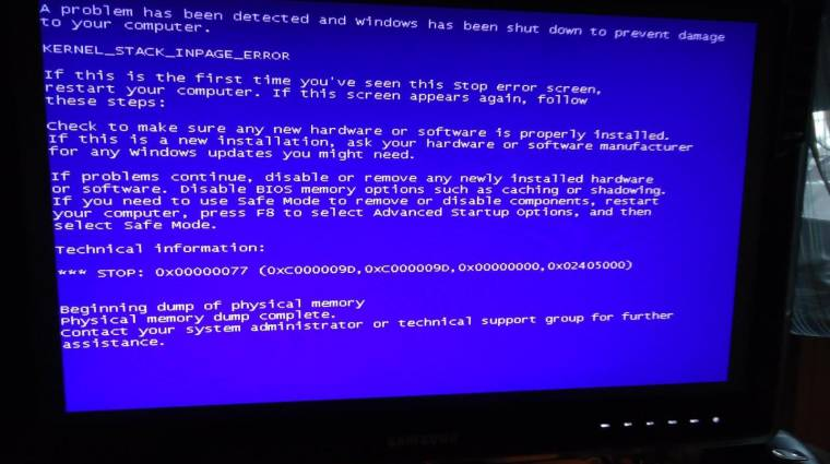 Kékhalállal frissített a Microsoft kép