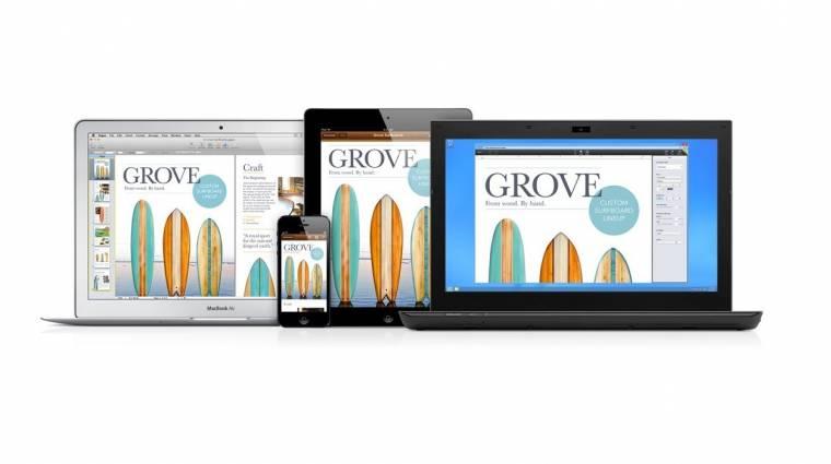 Már tesztelhető az Apple online irodája kép
