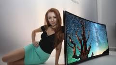 Hajlított tévét tessék, csak egy vagyonba kerül kép