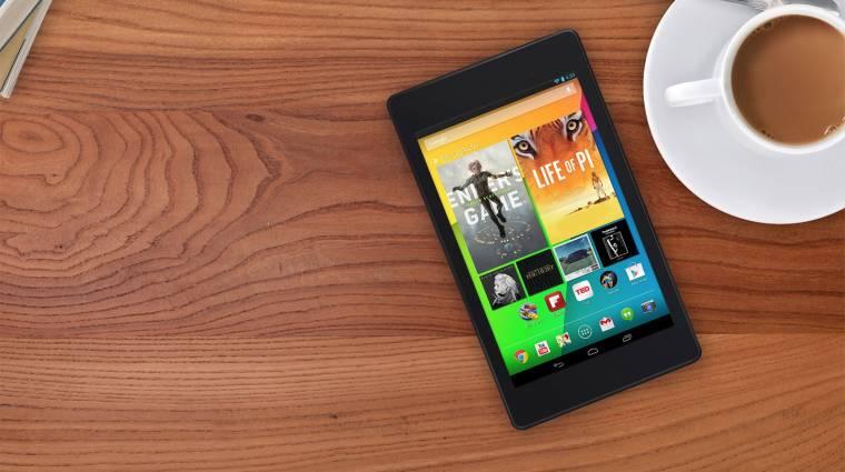 Megérkezett Európába az új Nexus 7 kép