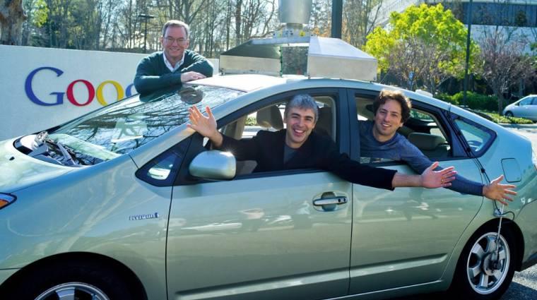 Saját autót tervez a Google kép