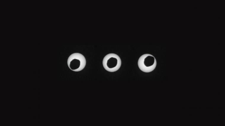 Ilyen egy napfogyatkozás a Marson kép