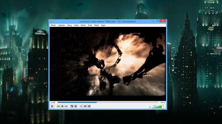 Elkészült a VLC Player 2.1 kép
