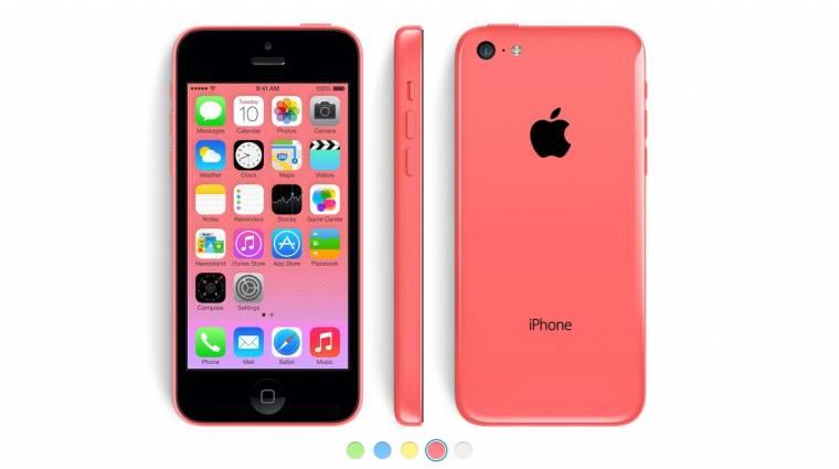 99 dollárba kerül az iPhone 5C! kép