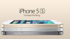 Bemutatták az új iPhone 5S-t kép