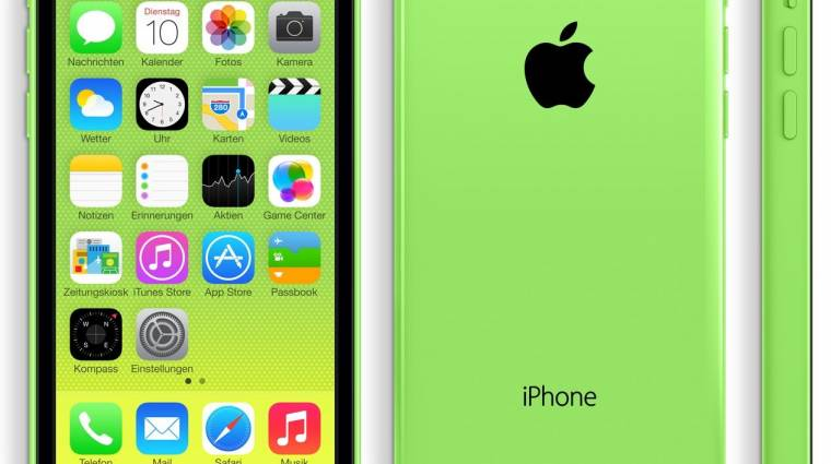 2,2 milliót kértünk egy nap alatt az  iPhone 5C-ből kép