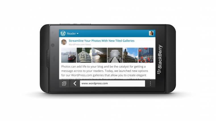 Kivonul a fogyasztói piacról a Blackberry kép