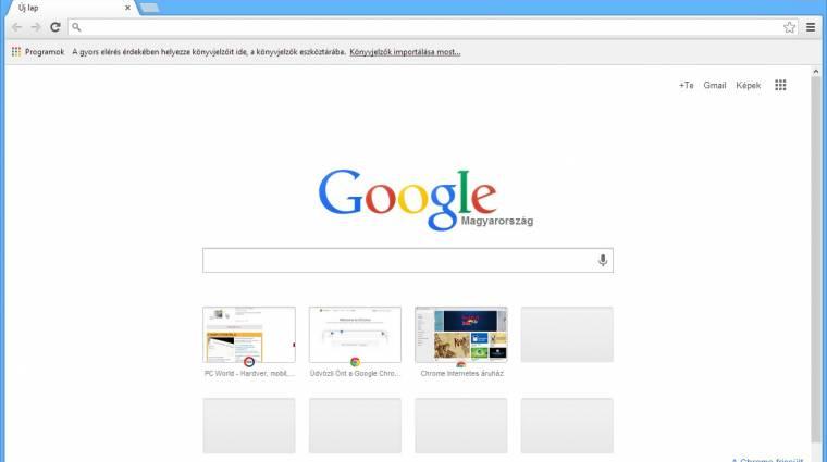 Zabosak a Chrome egyes felhasználói kép