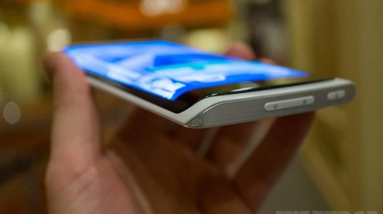 Hajlított kijelzős mobil jön a Samsungtól kép