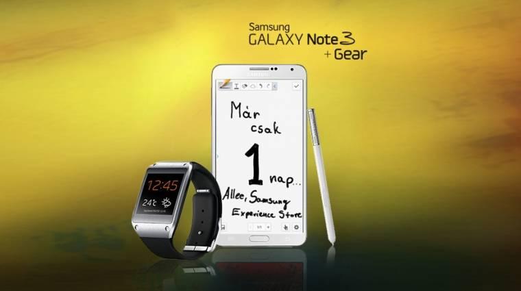 Ingyen Galaxy Gear jár a Galaxy Note 3-hoz kép
