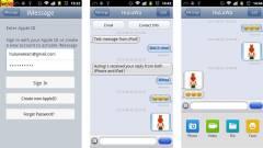 Veszélyes az androidos iMessage kép