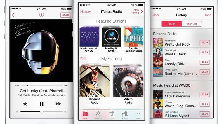 11 millióan hallgatják az iTunes Radiot kép