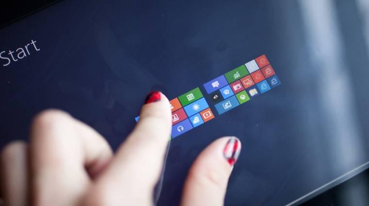 Megint a Start gombot dicséri a Microsoft kép