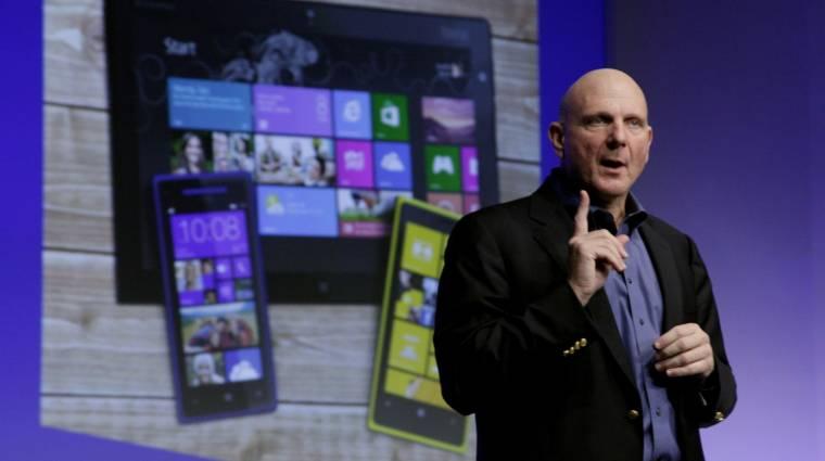 Ezért rúgták ki Ballmert a Microsofttól kép