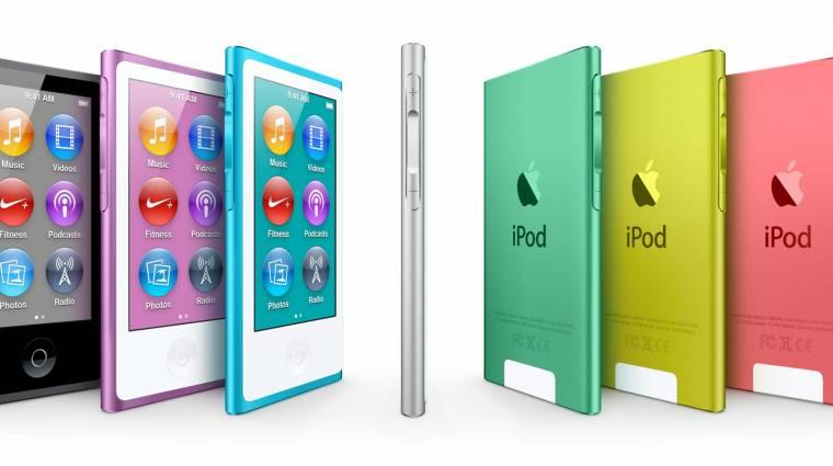 Már iPod is van menő színben kép