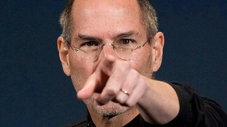 """NSA: Steve Jobs a """"Nagy Testvér"""" kép"""