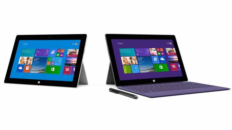 Két új Surface táblát mutatott be a Microsoft kép