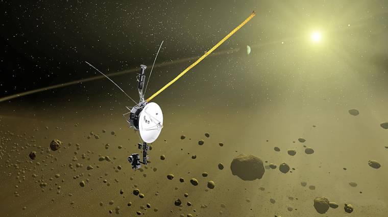 Az első ember által készített tárgy, ami elhagyta a Naprendszert kép