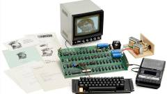 110 milliót ér egy Apple 1-es gép kép