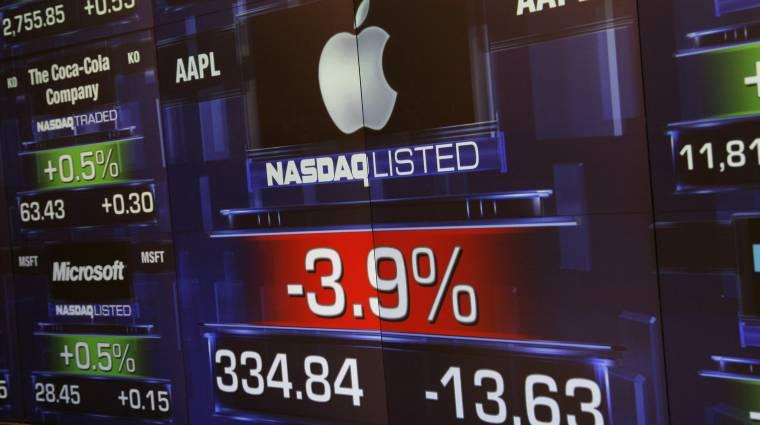 Az egekbe emelnék az Apple részvényeit kép
