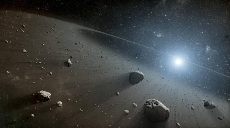 Élhető bolygók nyomára bukkantak egy haldokló csillag közelében kép