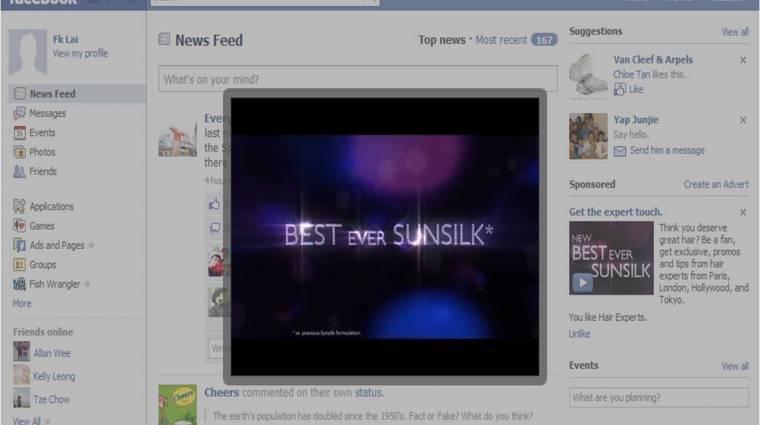 Késnek a Facebook videós hirdetései kép