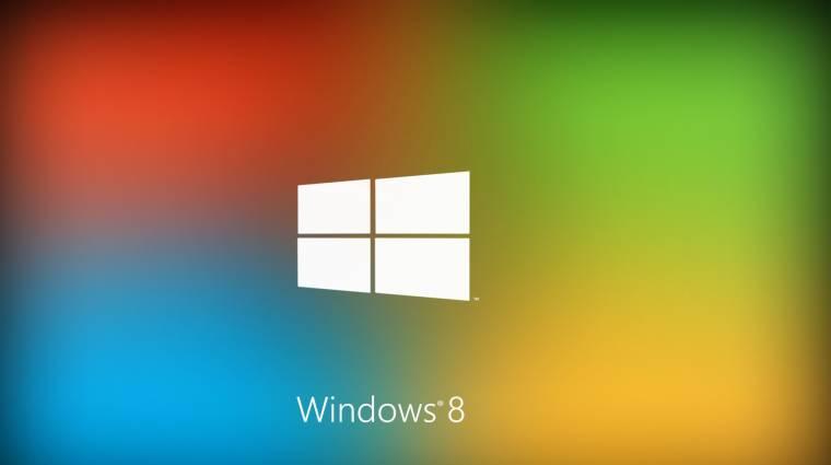 Egyre népszerűbb a Windows 8  kép