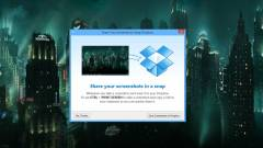 Már képernyőképeket is ment a Dropbox kép
